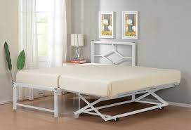 Trundle Beds With Pop Up Frames Day Bed With Pop Up Trundle Frame Loft Design Creative Regarding