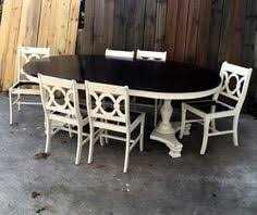 Shabby Chic Kitchen Table by Rustic Distressed Shabby Chic Farmhouse Coffee Table Dark Stain