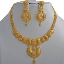 gold har set gold necklace set in ahmedabad gujarat sone ka har set
