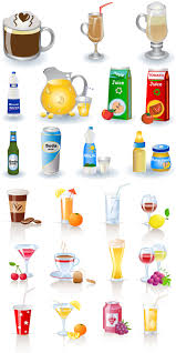 Tropical Drinks Cliparts Vector Free Download Clip Art Free