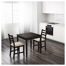 ikea black brown dining table lerhamn table black brown 74x74 cm ikea
