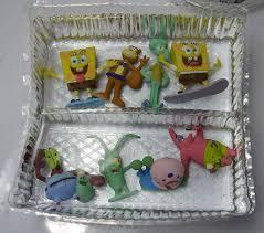 8pcs lot aquarium fish tank decoration spongebob aquarium ornament