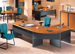 fresh london black curved office desk 6664
