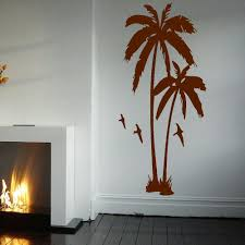 huge palm tree hall bedroom wall art mural giant graphic sticker