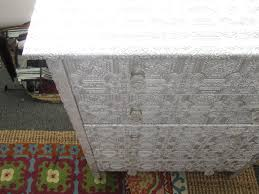 Metal Dressers Bedroom Furniture Indian Pressed Metal Dresser Made With Embossed Paper And
