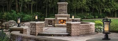 Unilock Fireplace Kits Price Outdoor Fireplaces