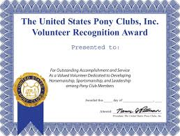 sample volunteer certificate template certificate templates