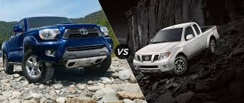 nissan truck frontier 2015 toyota tacoma vs 2015 nissan frontier