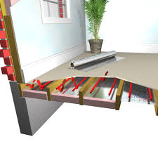 how to install radiant barrier in floor radiant heat flooring