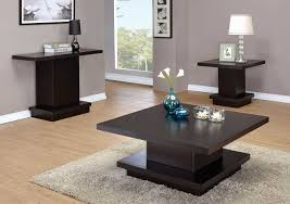 coaster 705168 occasional coffee table set cappuccino 705168