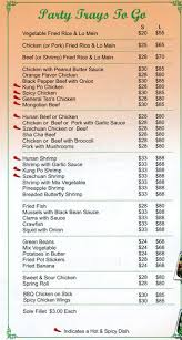 Buffet King Prices by Menu At King Buffet 5313 Evergreen Way Restaurant Prices