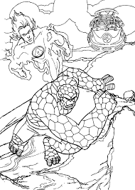 human torch coloring pages 8 free superheroes coloring sheets