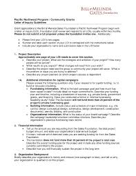cover letter for grants sample grant proposal documents sample