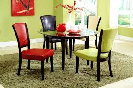 furniture easy the eye luxurius colorful dining room chairs