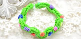 hand rubber bracelet images How to make new twist rubber band bracelet by hand jpg