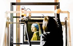 vermeer the girl with the pearl earring painting museum takes high tech look at vermeer s girl with a pearl