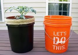 transform a 5 gallon bucket into a tomato planter hometalk