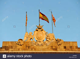 The Flag In Spanish Spanish Flag Barcelona Stock Photos U0026 Spanish Flag Barcelona Stock