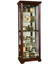 What To Put In A Curio Cabinet Logan Sliding Door Curio Cabinet Furniture Macy U0027s