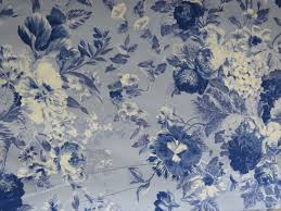 Shabby Chic Queen Sheets by Ralph Lauren Queen Fitted Sheet Grace Blue Floral Pattern
