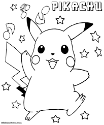 awesome pikachu coloring pages with pikachu coloring pages to
