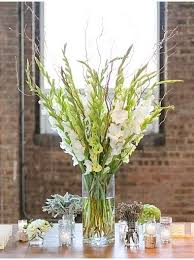 Glass Vases For Weddings Best 25 Gladiolus Centerpiece Ideas On Pinterest Gladiolus