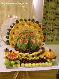 fruit carving arrangements and food garnishes cornucopia