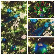 peacocks home decor my peacock christmas tree 2014 peacock home decor pinterest