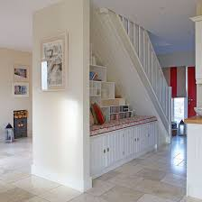 Entrance Hall Bench Hallway Storage For Practical Entrances Ideal Home