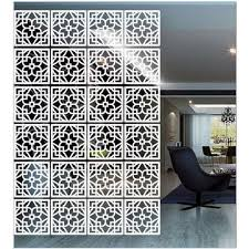 Acrylic Room Divider White Acrylic Room Divider At Rs 3500 Set Room Dividers Id