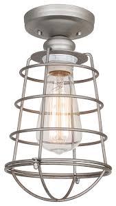 industrial semi flush mount lighting lighting design ideas ceiling lights flush mount industrial