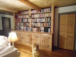 ikea library wall how to build bookcase for beginners diy floor
