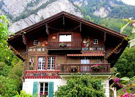 chalet style house storybook swiss chalet the exterior painting great