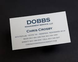 precise continental project spotlight dobbs business card