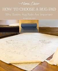 diy rug pad rugs ideas
