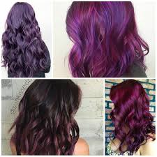 hues of purple lavishing purple hair colors 2017 new hair color ideas u0026 trends