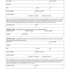 firearm bill of sale u2013 free printable gun bill of sale forms in
