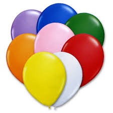 balloons delivered nyc bright assorted colors 12 inch party balloons bouquet