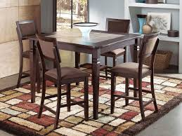 factory expo furniture dining room furniture 5pc counter height dining set