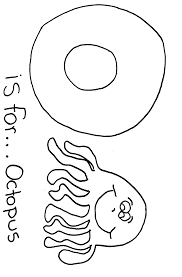 alphabet o coloring pages