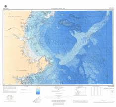 Us East Coast Map U S Bathymetric And Fishing Maps Ncei