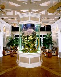 furniture incredibles fish tank room divider with ceiling fan and