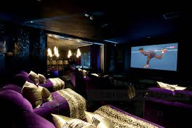 Cinetopia Parlor Room by Private Cinema Room Through To Bar The Design Company By Uber