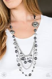 all necklace images Paparazzi blockbuster necklace all the trimmings black debs jpg