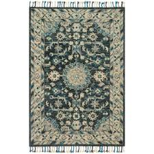 Loloi Rugs Loloi Zharah Teal U0026 Grey Zr 02 Transitional Area Rugs