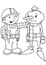 bob builder cheer spud colouring happy colouring