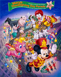 macy s thanksgiving day parade 2000 poster thanksgiving