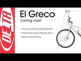 Bicycle Ceiling Hoist by Delta El Greco Ceiling Hoist