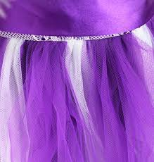 iefiel purple flower dress kids pageant wedding bridesmaid