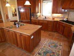 kitchen patterns and designs cute brown color travertine tiles kitchen floor come with grid